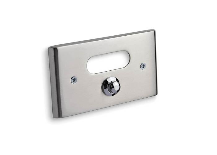 Κουδούνι Convex σειρά 137 σε Ματ Νίκελ/Χρώμιο