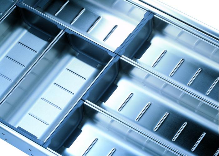ORGA-LINE Inox Κουταλοθήκη /Πλάτος Κουτιού:450mm/NL550
