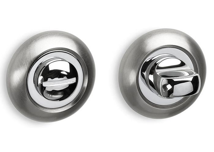 Επιστόμια με Κλείστρο Ασφαλείας WC – Convex 485 σε Ματ Νίκελ/Χρώμιο